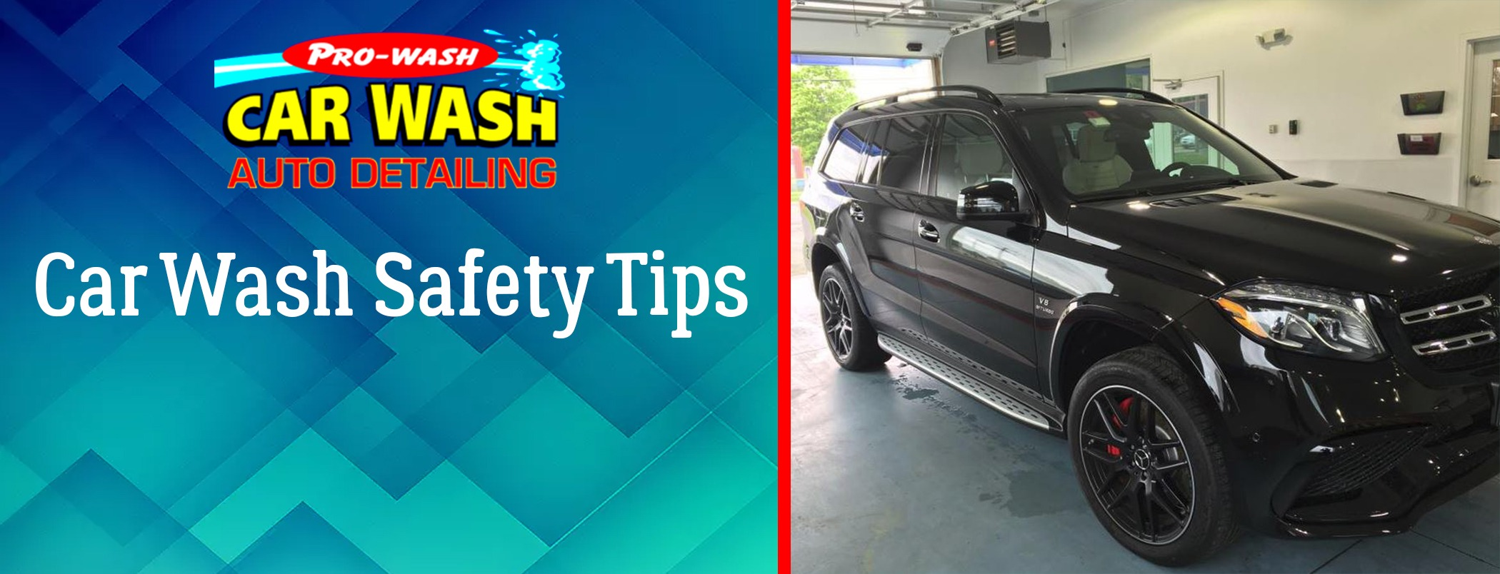 Car wash safety tips pro wash car wash auto detailing car wash vehicle safety tips solutioingenieria Choice Image